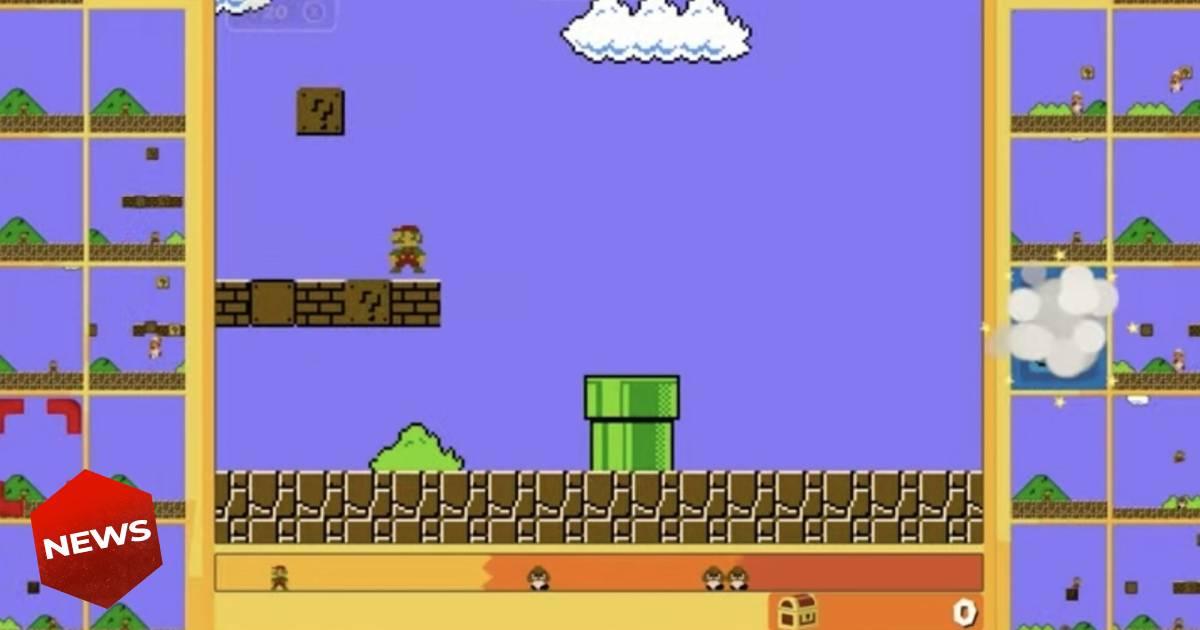 Super Mario Bros. 35, Super Mario, Nintendo, Super Mario 35° anniversario