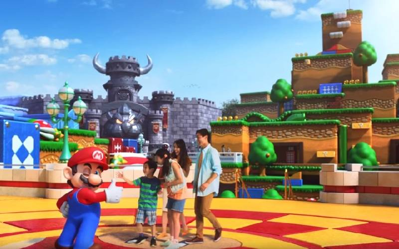 Super Nintendo World, Nintendo, Super Nintendo World Osaka, Super Nintendo World Universal Studio, parco divertimenti Nintendo, parco divertimenti Super Mario