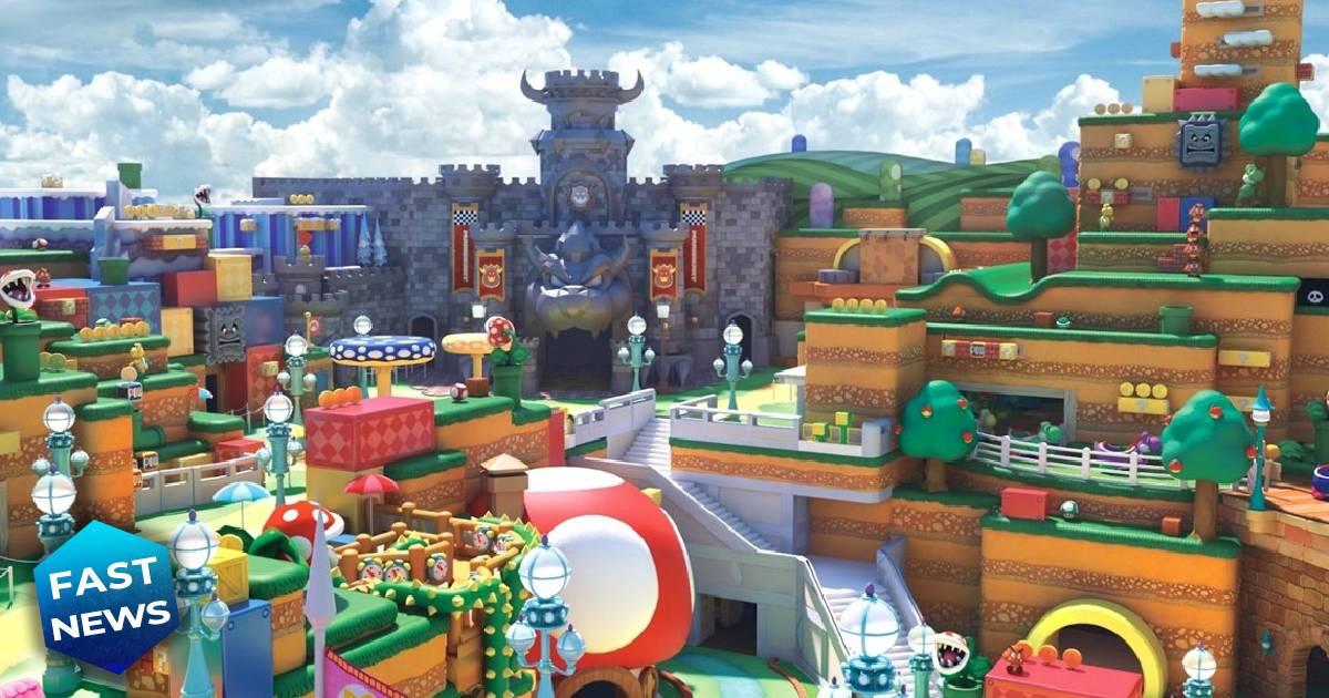 Super Nintendo World, Nintendo, Super Nintendo World Osaka, Super Nintendo World Universal Studio, parco divertimenti Nintendo, parco divertimenti Super Mario