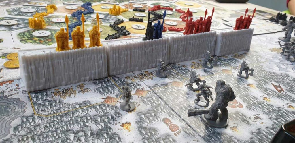 Bruti assaltano la Barriera di Catan - Il Trono di Spade