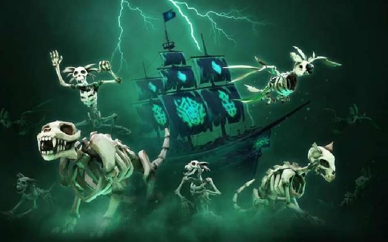 Rare, Sea of thieves, sea of thieves italia, sea of thieves ita halloween party, sea of thieves italia twitch halloween party