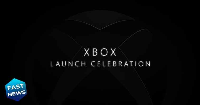 Xbox Launch Celebration, Xbox, evento lancio Xbox Series X e S 10 novembre, evento Xbox Series X e S online