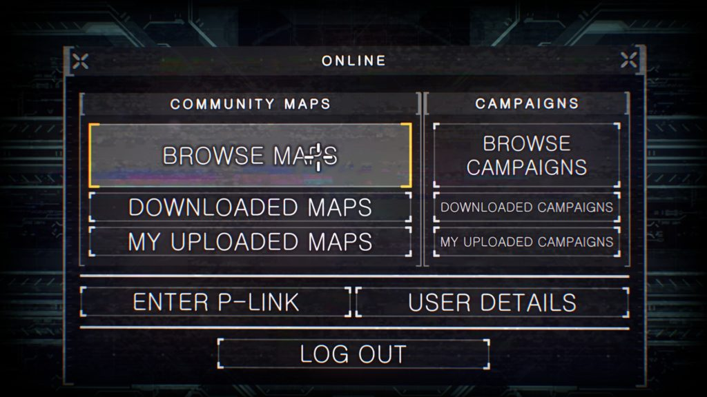 prodeus screenshot menu