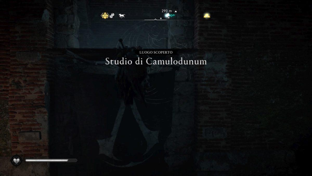 Assassin's Creed Valhalla studio di camulodunum