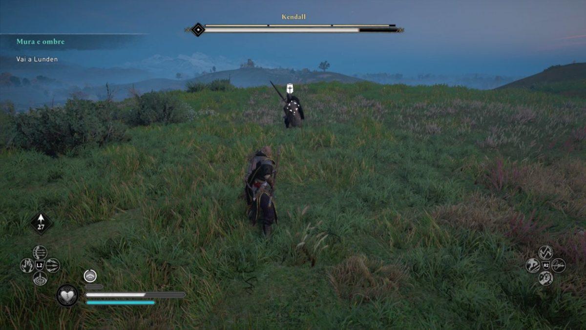 Assassin's Creed Valhalla combattimento con membro dell'ordine