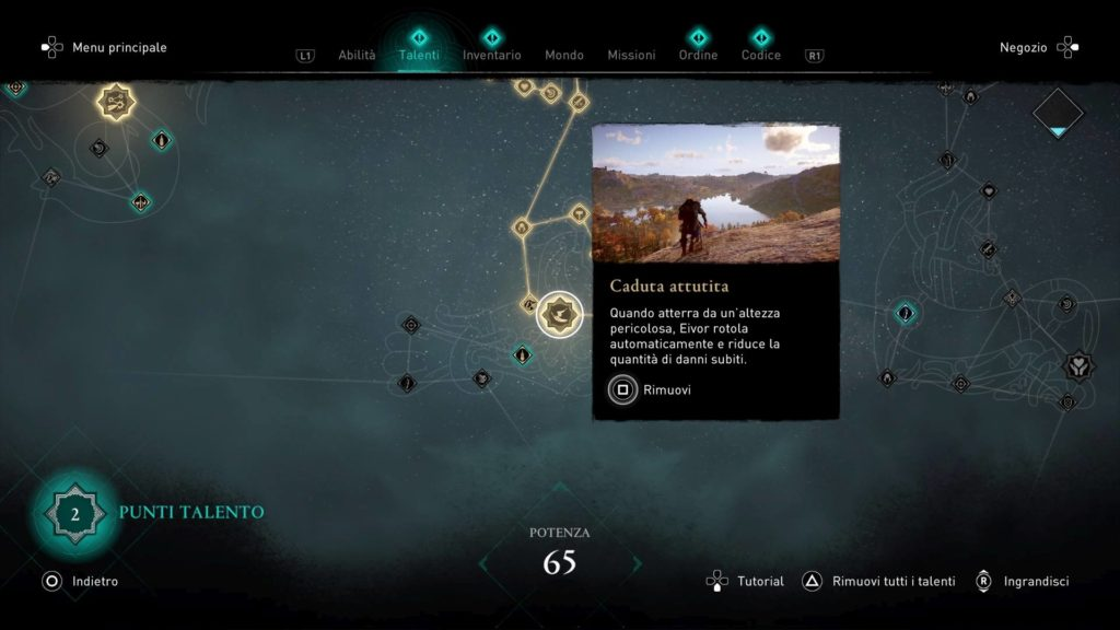 Assassin's Creed Valhalla Caduta Attutita
