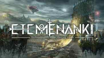 Etemenanki, Technofantasy RPG – kickstarter