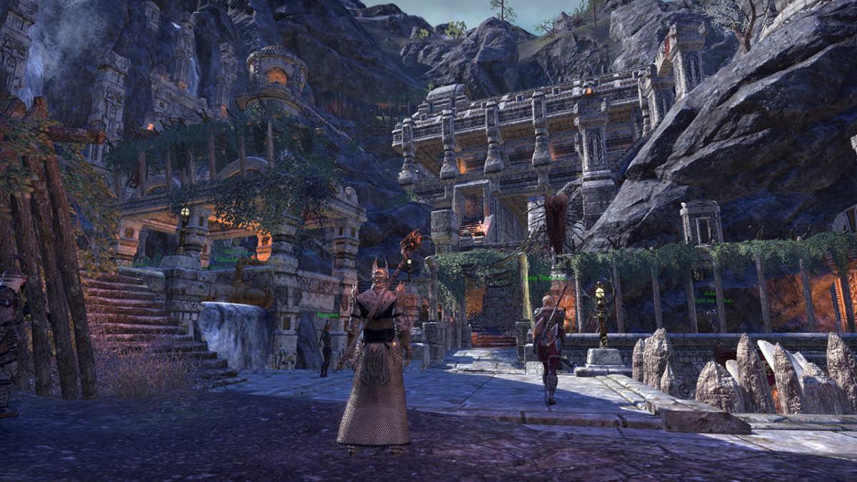 La città di Markarth in The Elder Scrolls Online