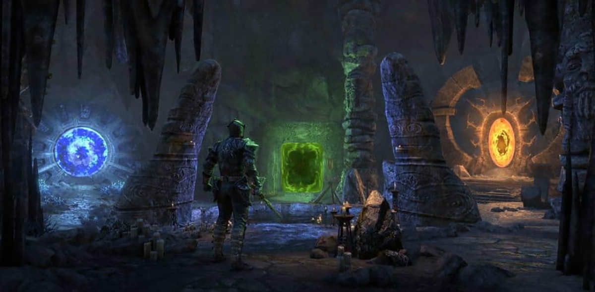 L'arena di Vateshran Hollows introdotta dal DLC Markarth