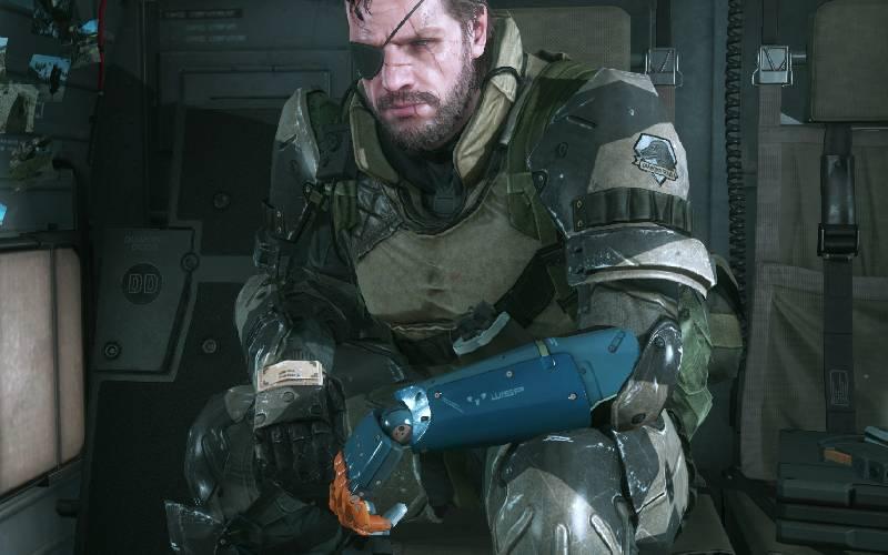 Metal Gear Solid V: The Phantom Pain, Metal Gear Solid, Venom Snake, Hideo Kojima, protesi Metal Gear Solid