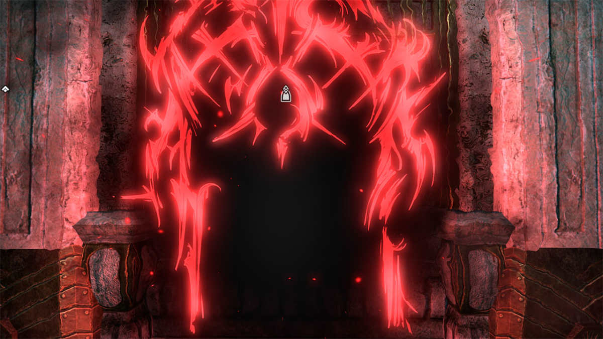 Un'inquietante porta magica della Gray Host