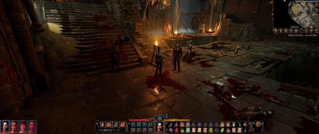 Fine del combattimento contro i Goblin di Baldur's Gate 3