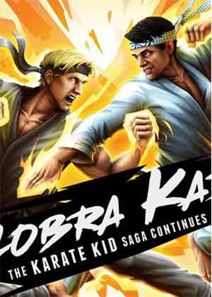 locandina del gioco Cobra Kai: The Karate Kid Saga Continues
