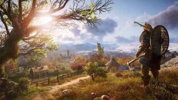 Assassin's Creed Valhalla copertina