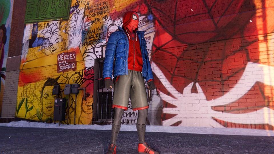 come sbloccare il costume sportivo in spiderman miles morales