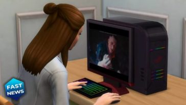 The Sims 4, Cyberpunk 2077, The Sims 4 Cyberpunk 2077 mod, Mod videogiochi The Sims 4
