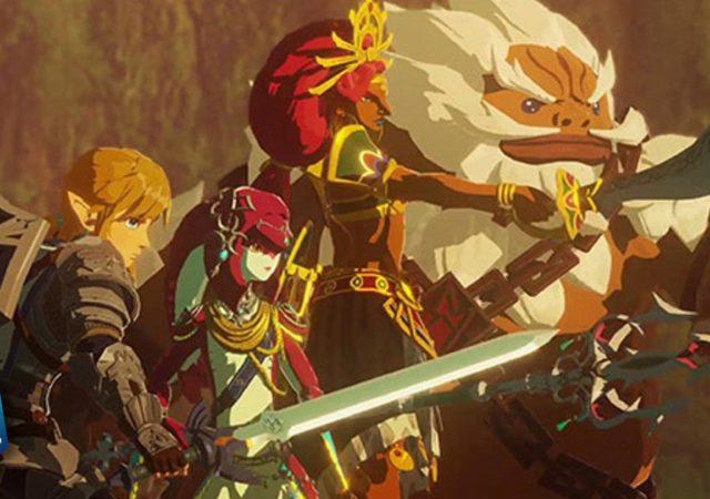 hyrule warriors age of calamity nuovi screenshot video