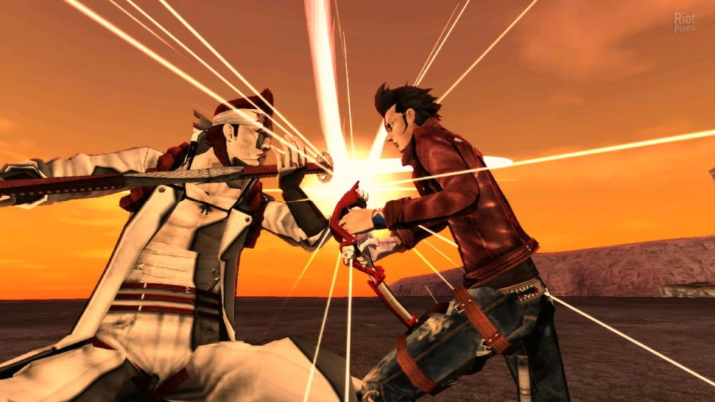 No More Heroes 2 boss fight