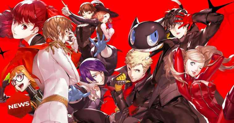 phantom thieves persona 5