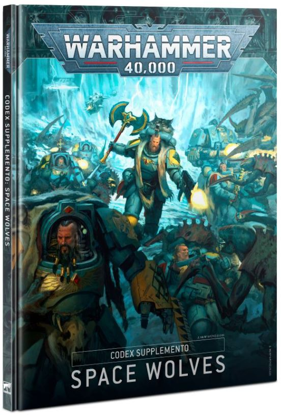 Copertina Codex Supplemento Space Wolves