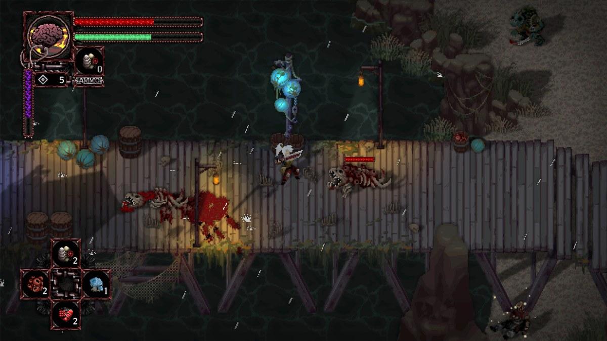 Morbid combattimento con nemici