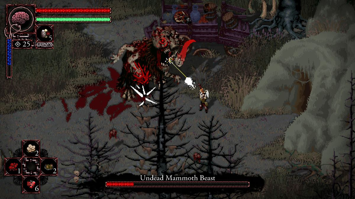 Morbid Boss battle