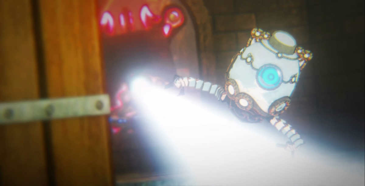 Terrako salta nel portale verso il passato