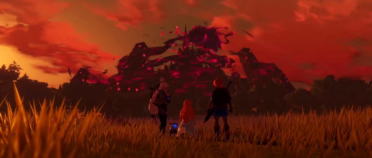 Il castello di Hyrule cade in mano alla Calamità