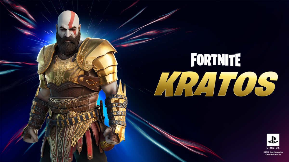 kratos corazzato fortnite ps5