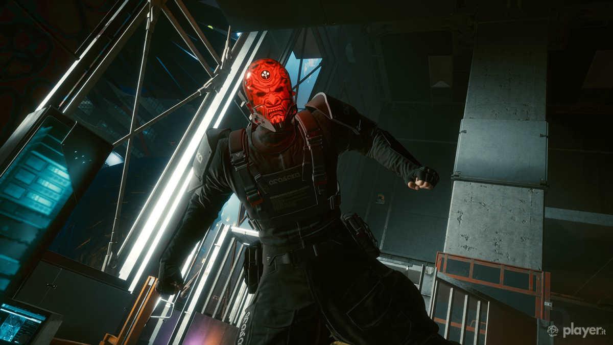Oda, uno dei boss in cyberpunk