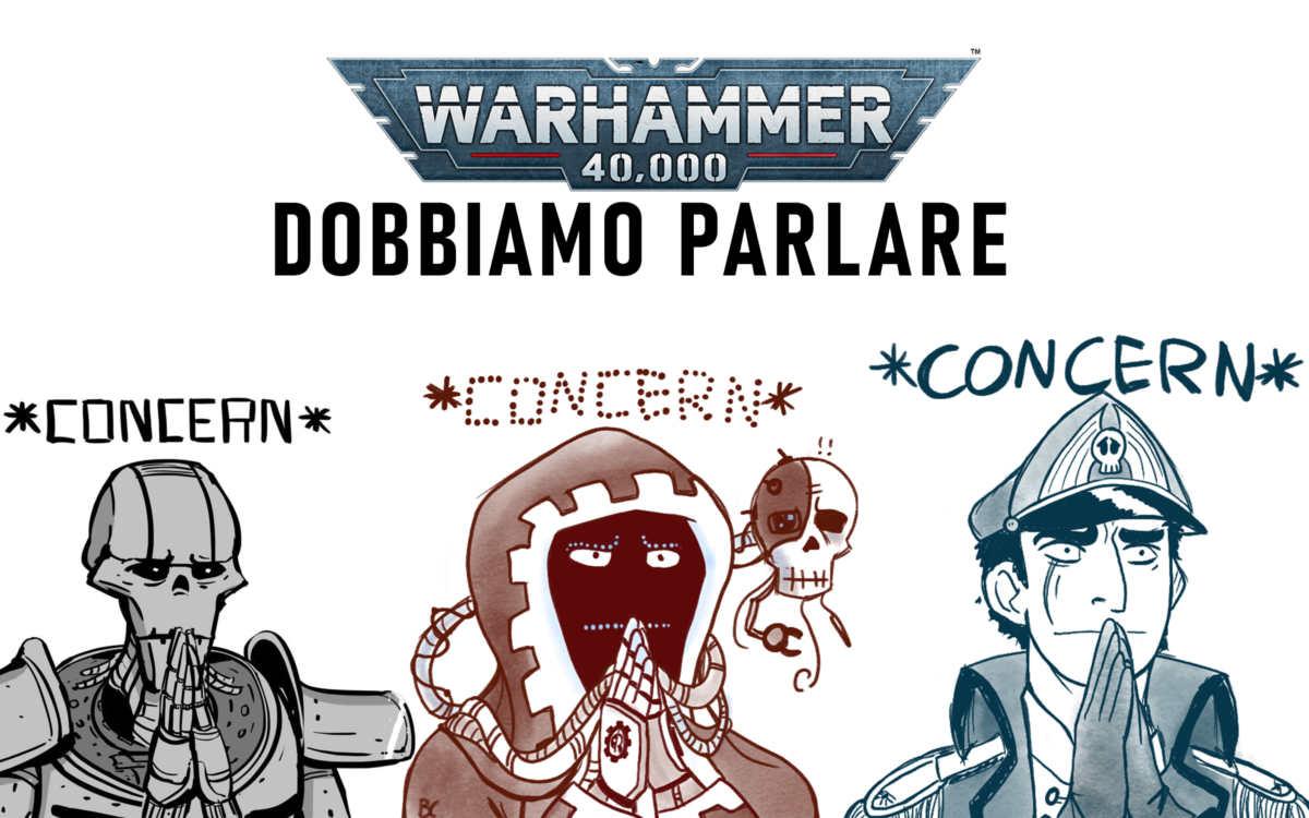 Copertina Warhammer 40.000 dobbiamo parlare