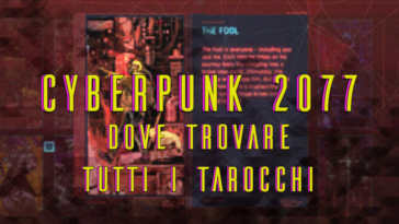 guida ai tarocchi cyberpunk 2077