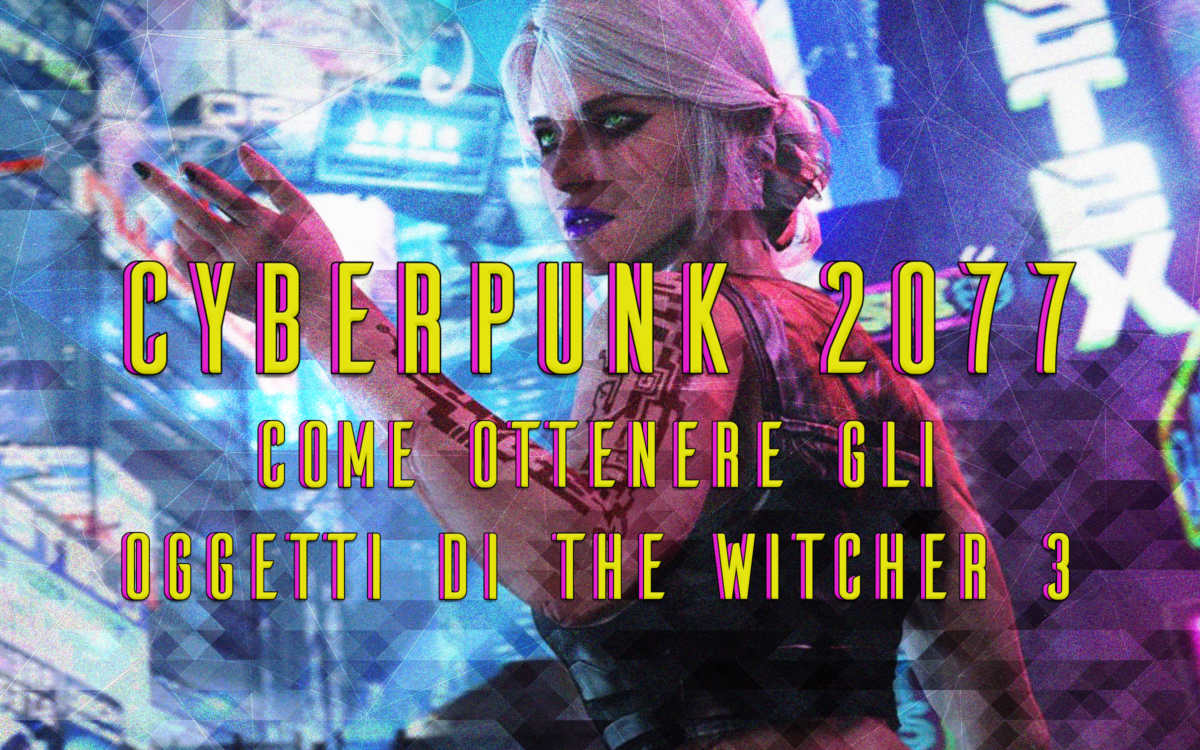 cyberpunk 2077 ricompense the witcher 3
