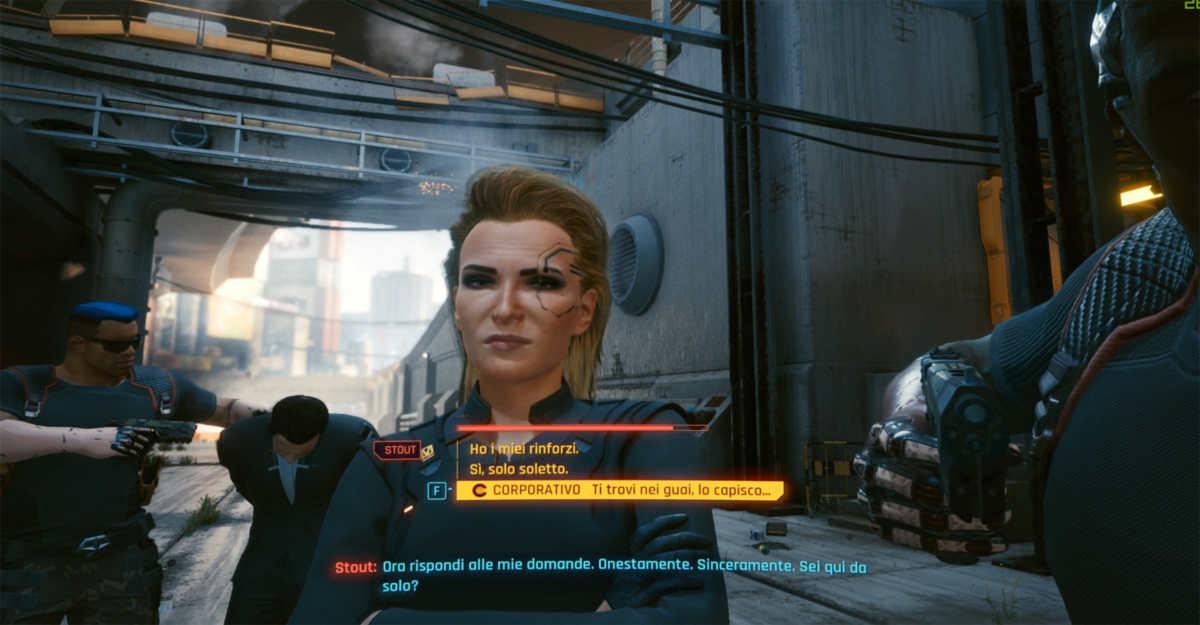 cyberpunk 2077 metodo stanilavski