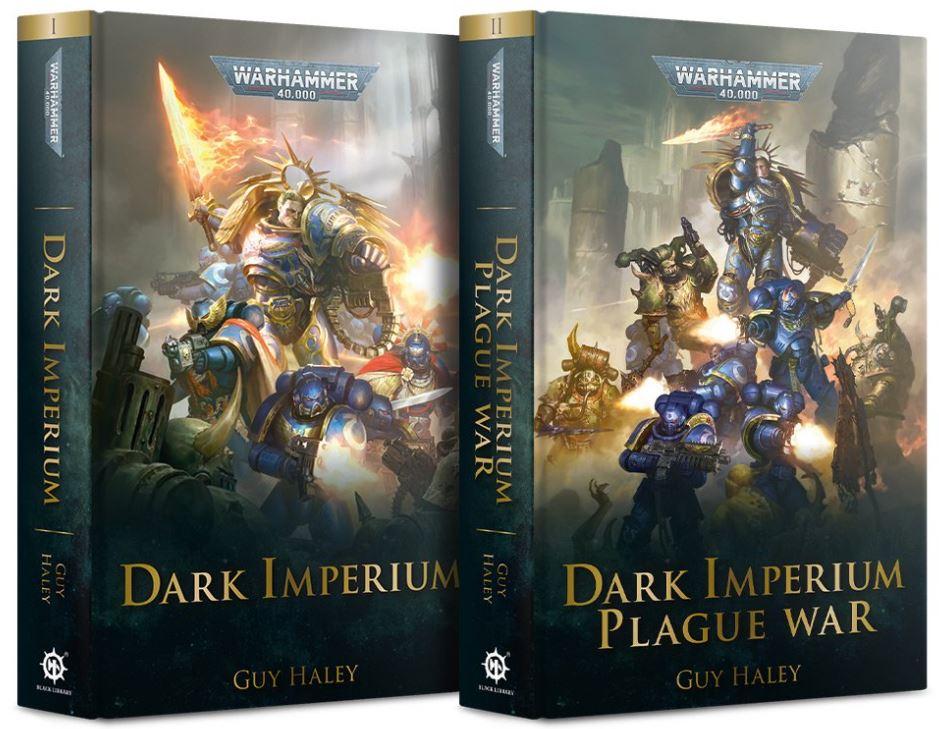 Copertine dei romanzi di Dark Imperium