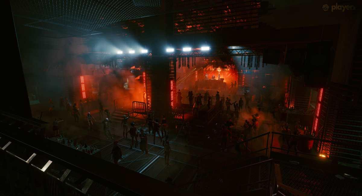 discoteca in cyberpunk 2077