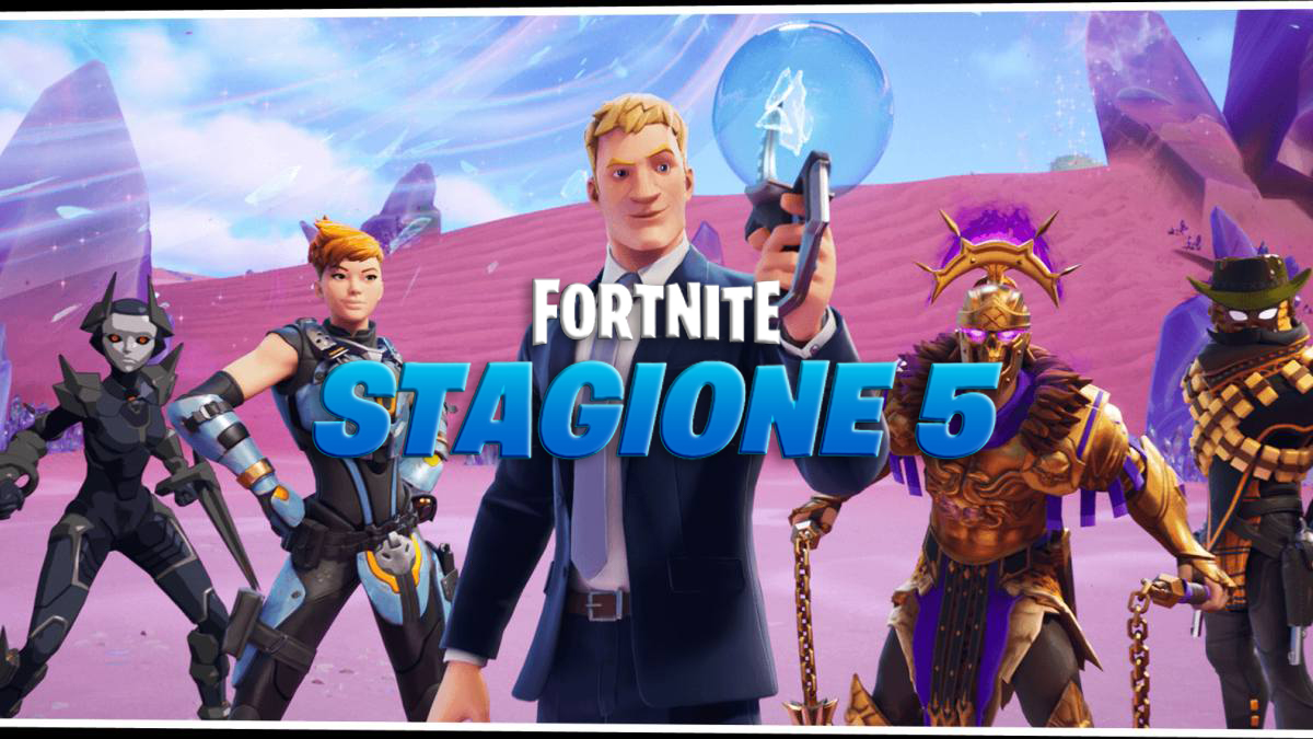 fortnite stagione 5