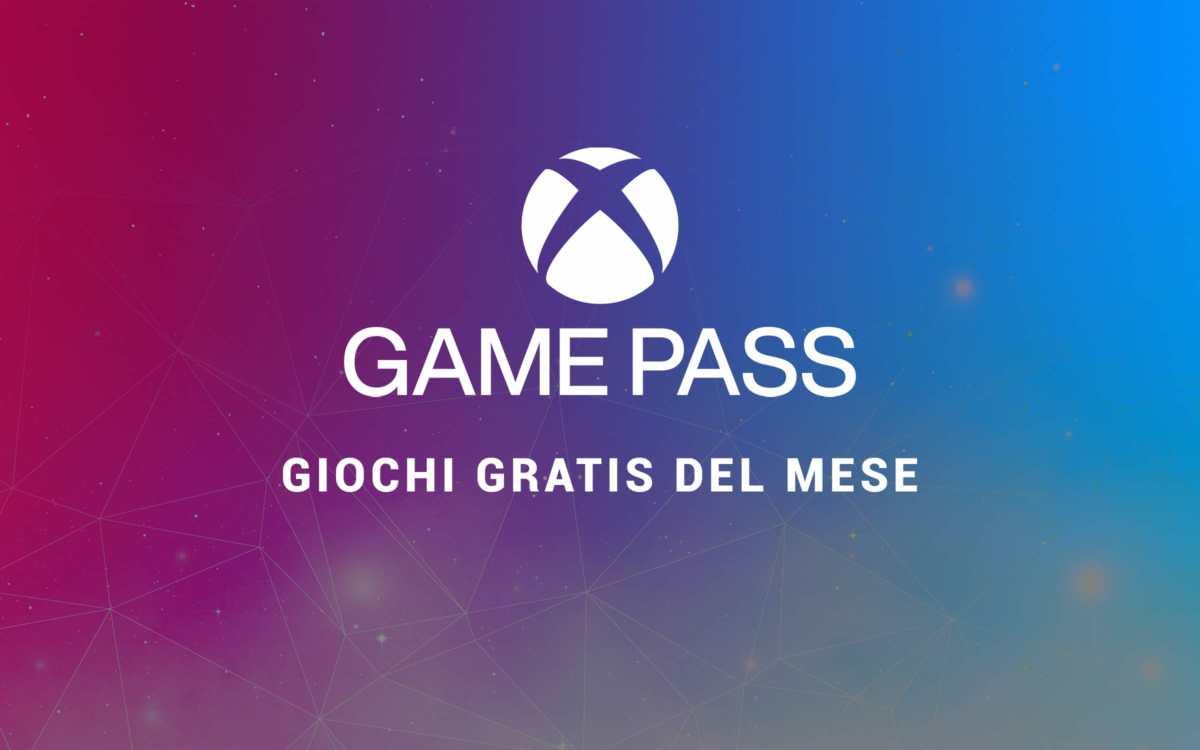 I giochi gratis del mese per il gamepass