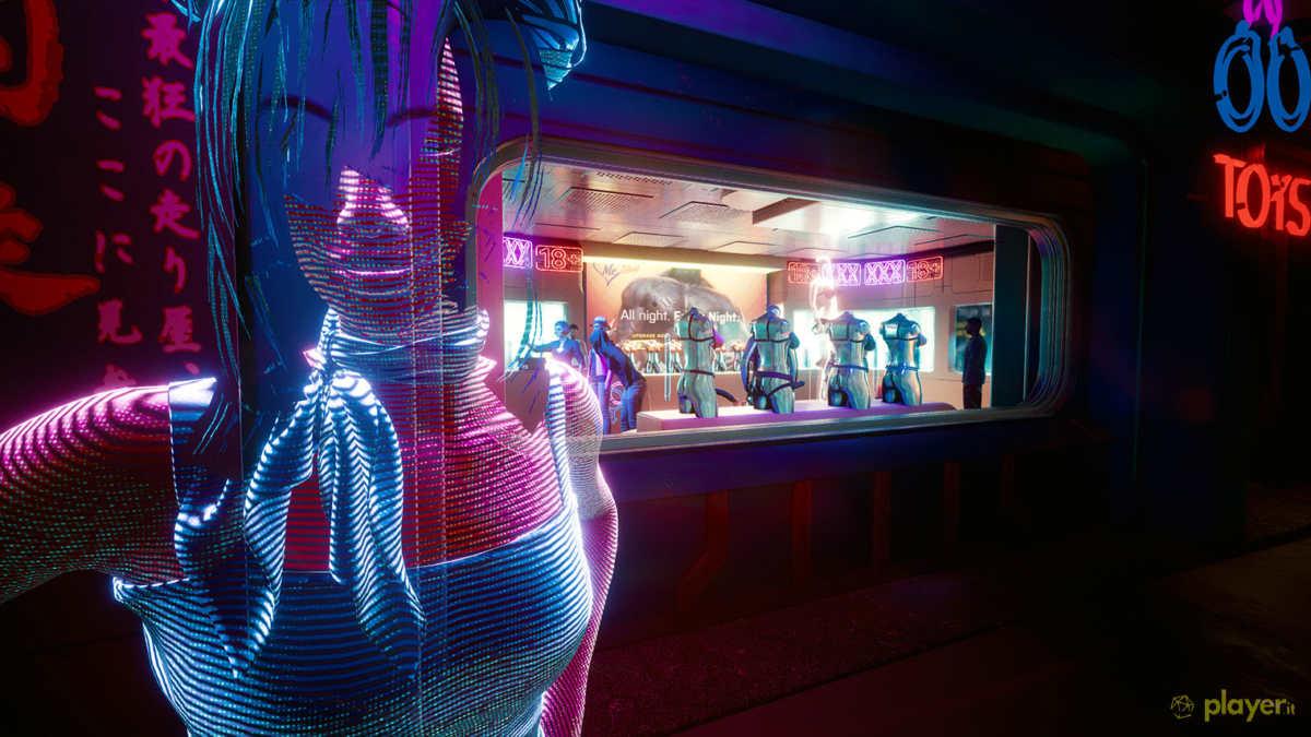 il sesso in cyberpunk 2077