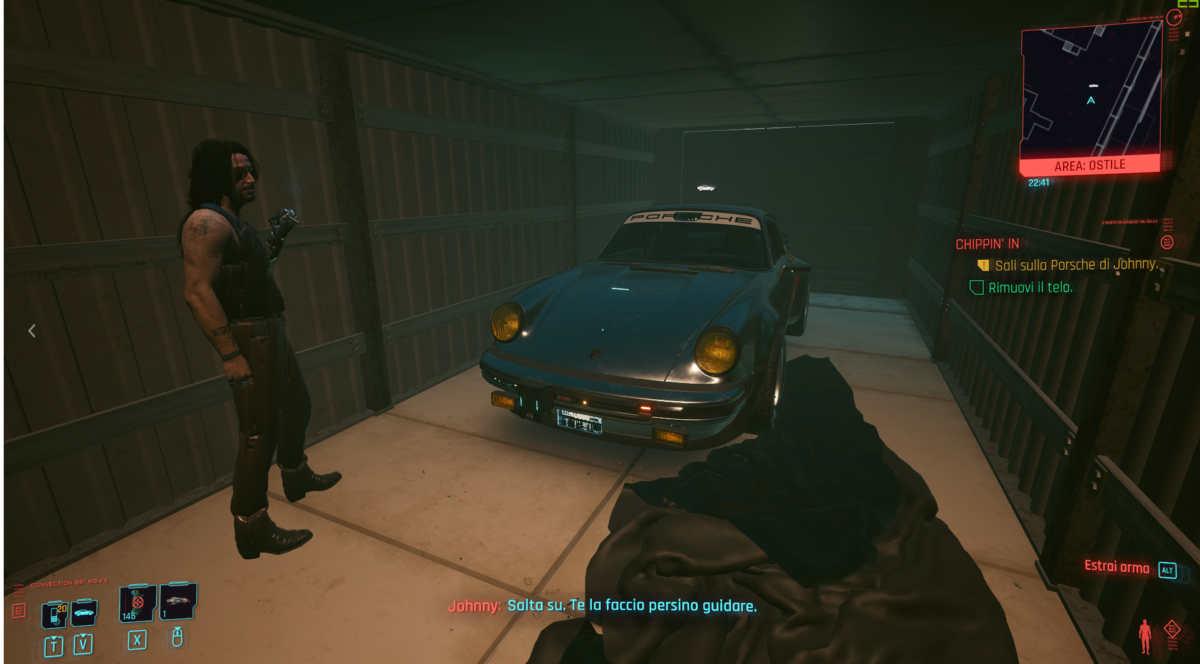 La Porsche 911 di Johnny Silverhand