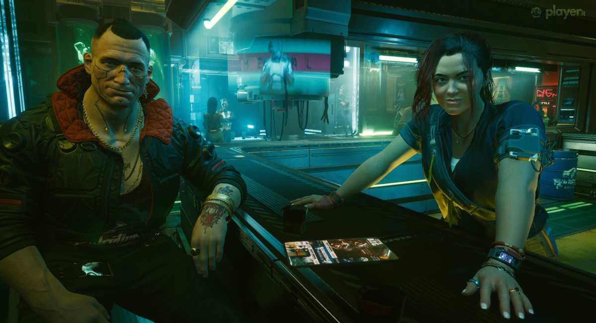 jackie e claire in cyberpunk 2077