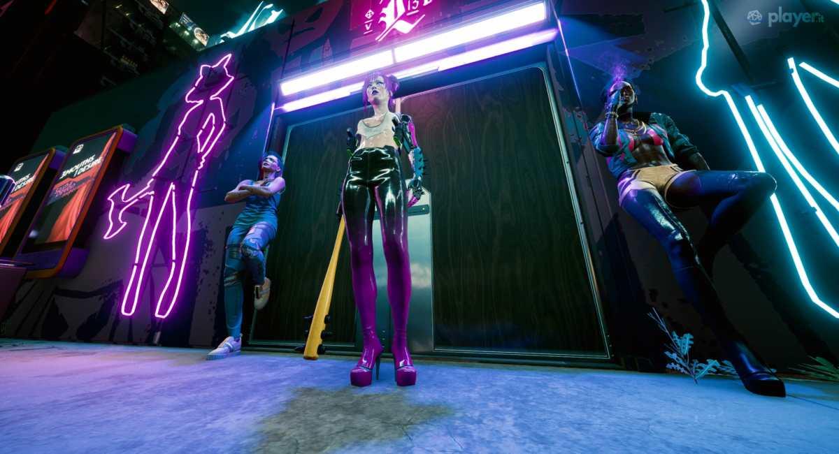 le lavoratirici in cyberpunk 2077