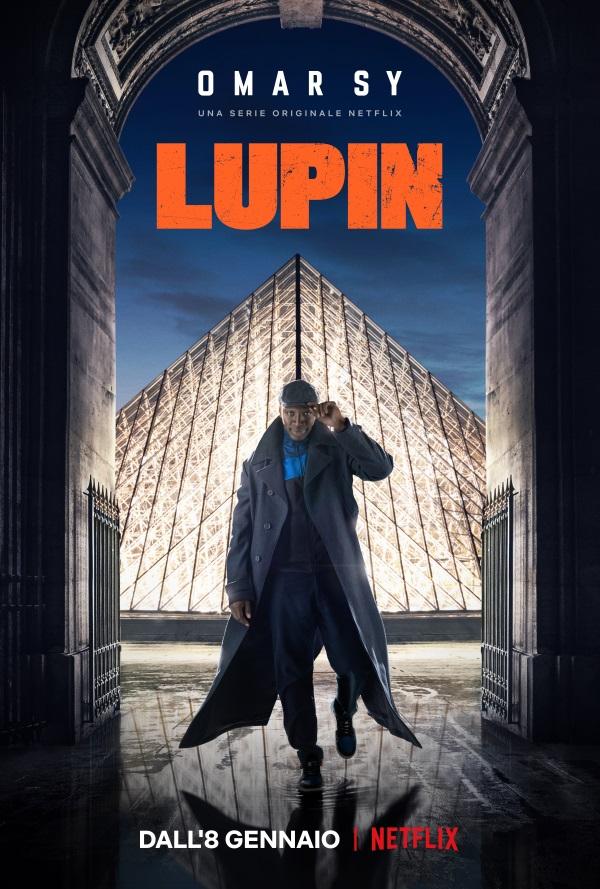 Lupin, cover della serie Netflix