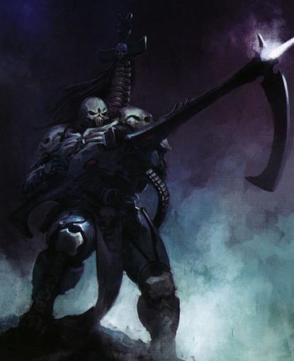 Maugan Ra degli Aeldari Tetri Mietitori