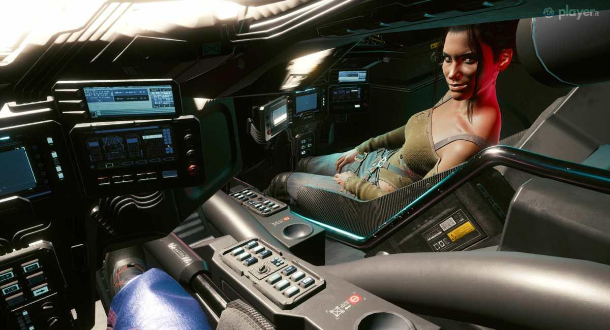 mezzo da guerra militech cyberpunk 2077