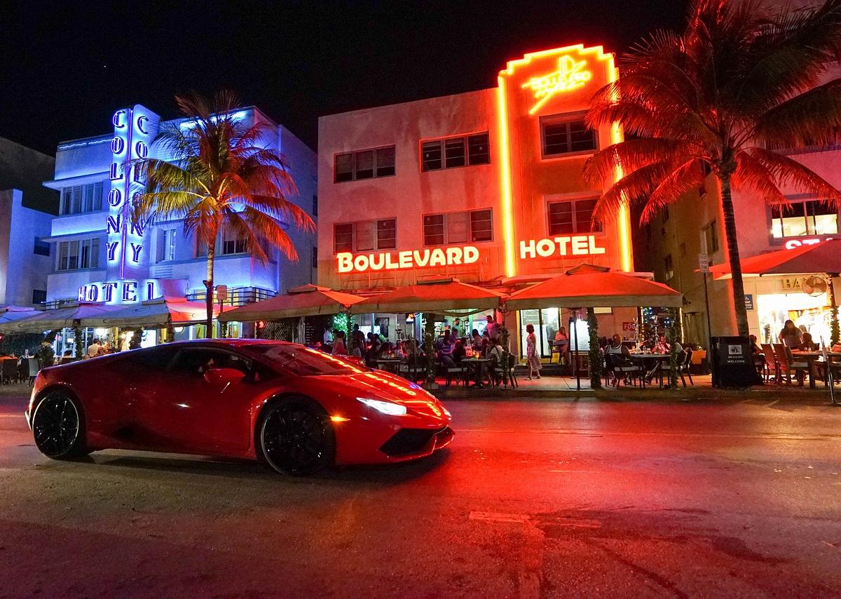 Ocean Drive a Miami Beach