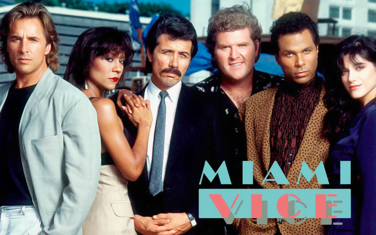 Pubblicità di Miami Vice, serie TV