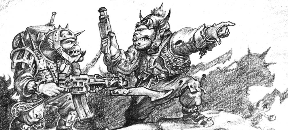 Orki in Rogue Trader