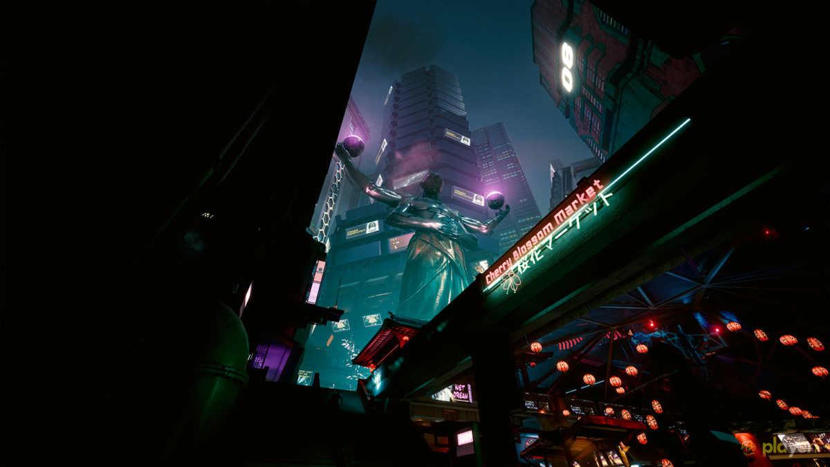 quartiere giapponese in cyberpunk 2077