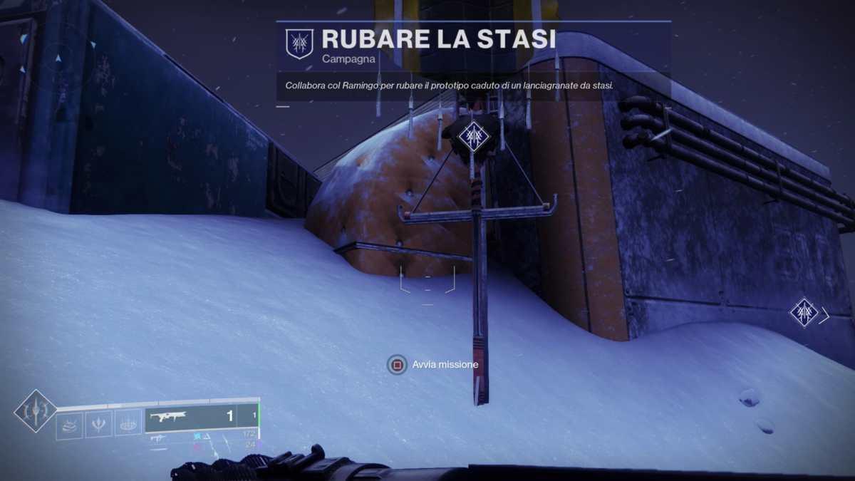 Icona della missione Rubare la stasi in Destiny 2